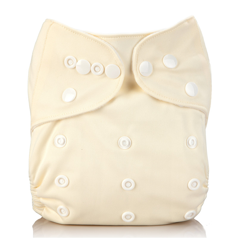 1 Pc Baby Cloth Diaper Pocket Washable Solid Color Nappy Adjustable Many Colors Available Cloth Diapers 3-15kg