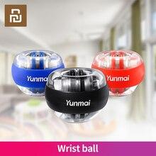 חדש מכירות חמה Youpin Yunmai אנטי סטרס יד מאמן LED Gyroball חיוני ספינר Gyroscopic אמה ממתח ג יירו כדור