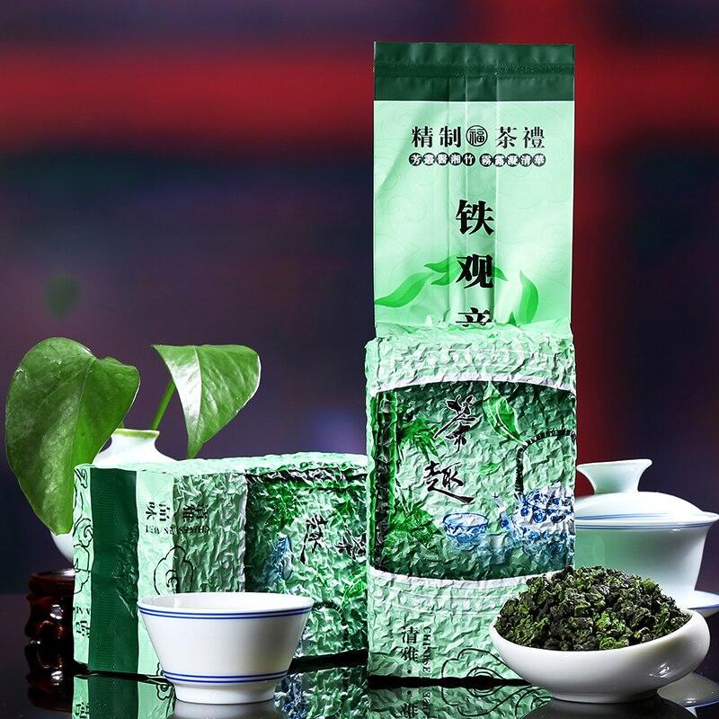 250g China Anxi Tiekuanyin Tea Fresh 1275 Organic Oolong Tea For Weight Loss Tea Health Care Beauty Green Food Chengxj