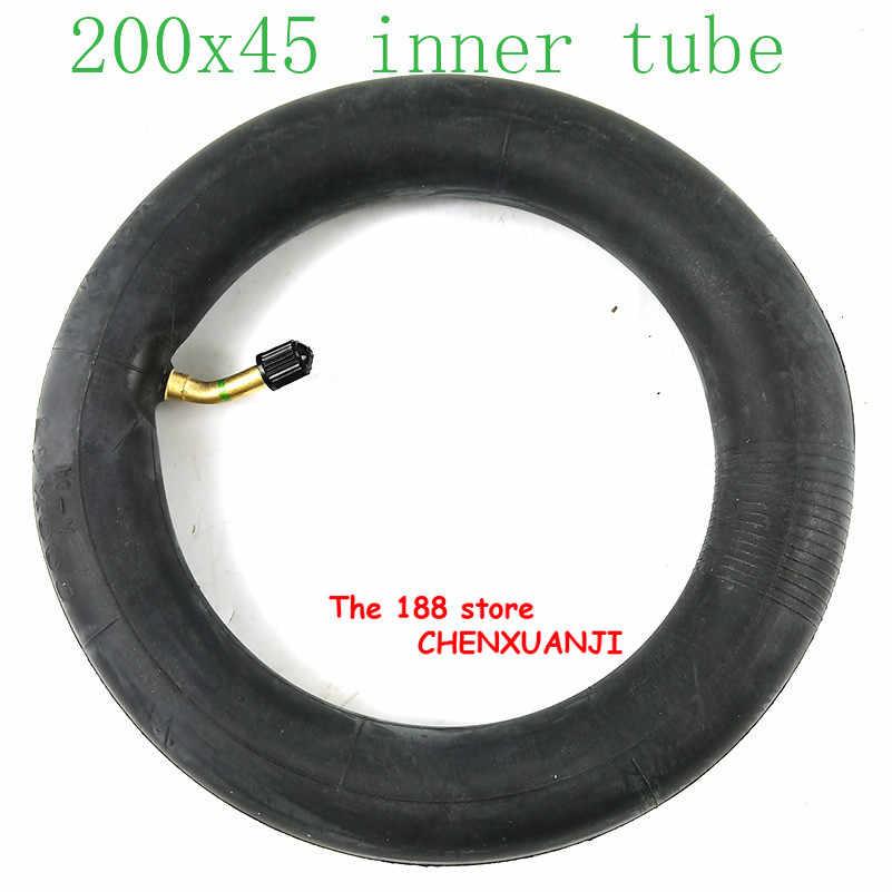 """200x45 מנופח פנימי צינור עבור דואר twow S2 קטנוע פנאומטי גלגל 8 """"קטנוע כיסא גלגלים אוויר גלגל פנימי צמיג 8x1 1/4 צינור"""