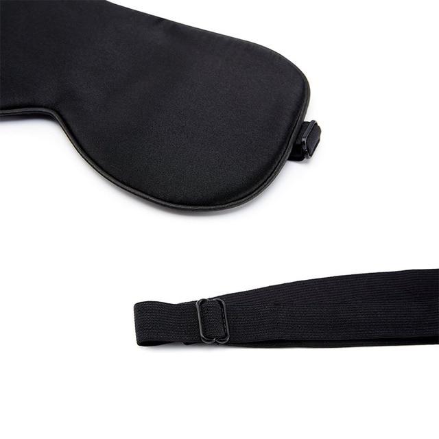 100% Natural Mulberry Silk Sleep Mask Soft Blindfold Smooth Eye Mask Sleeping Aid Eyeshade Eye Cover Patch Bandage Comfort 5