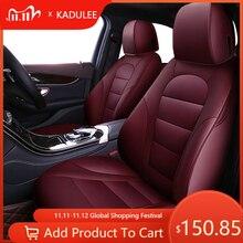 KADULEE car seat cover set for Volkswagen 4 5 6 7 vw passat b5 b6 b7 polo golf mk4 tiguan jetta touareg accessories car styling