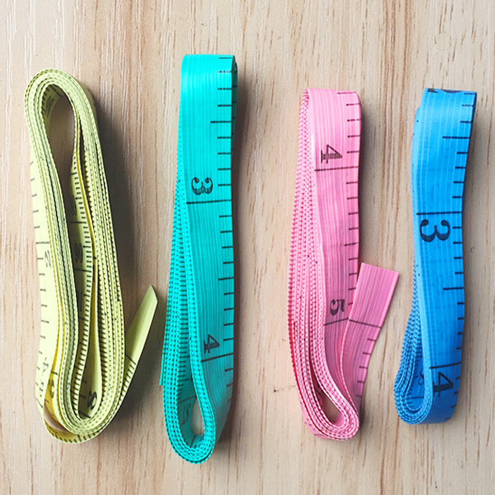 ZHUTING 3pcs Colorful Soft Tape Measuring Tape Sewing Tailor Cloth Ruler Flexible Rule Measurement Tool