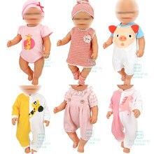 Ubranka dla lalki dla 17 cali 43 cm akcesoria dla lalek dla dzieci