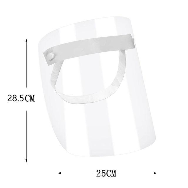 Brand New 1 PC Anti-virus Saliva Transparent Mask Protective Face Shield PVC Protection 4