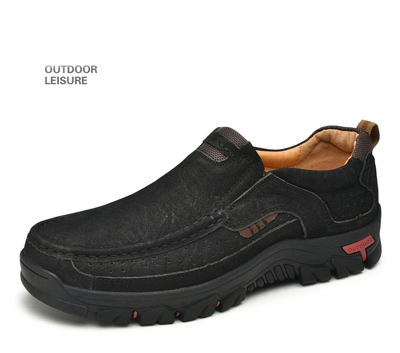 H878408c464274937b4b11ae6d3a7a22e1 Men Casual Shoes Sneakers 2019 New High Quality Vintage 100% Genuine Leather Shoes Men Cow Leather Flats Leather Shoes Men