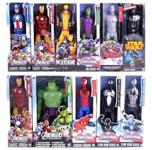 12-Inch Wolverine Iron Man Ant Spider-Man Venom Thor Beauty Team Even Ornaments