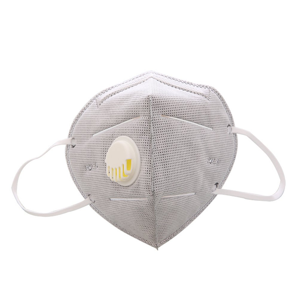 Mask Anti-fog Haze PM2.5 Solid Folding Grey Activated Carbon Health And Beauty Personal Care Products