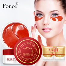Fonce Snake Venom Essence Eye Mask 60 Piece For Faded Dark Circles Eye Bags Firming Wrinkles Natural organic Eye Patches