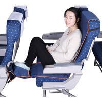 Verstelbare Voetsteun Hangmat Met Opblaasbaar Kussen Seat Cover Voor Vliegtuigen Treinen Bussen|Hangmatten|Meubilair -