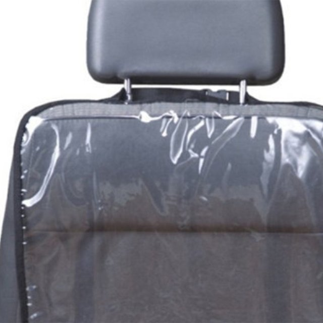 Back Protective Cover for Children's Car Seat Back Protective Mat for Babies Anti-kick Anti-wear and Anti-tread Dirty Mat 3
