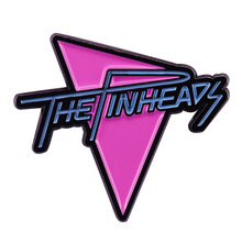 Marty McFly The Pinheads Band Logo Brooch Pin Back to the Future Movie Fans Popular Kitsch Art Collection