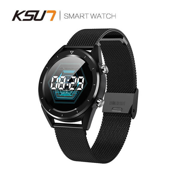 KSUN reloj inteligente KSR901 con Bluetooth, Android/IOS, 4G, GPS, resistente al agua, pantalla táctil, deporte, salud