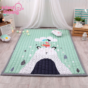 Image 2 - Baby Mat Play Mat Children Carpet Baby Playmate 140X195X2.5CM Machine Washable Rugs For Living Room Anti skid Bedroom 55X76 Inch