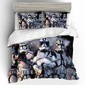 Высококачественный домашний текстиль  пододеяльник  Звездные войны  3D  комплекты постельного белья  хлопок  детское постельное белье  удобн...
