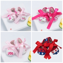 Baby Shoes Toddler Girl Shoes Cherry Crib Shoes Soft Sole Flat for children Princess First Walking3 flamingo shoes 92b xy 1650 shoes for children 23 28