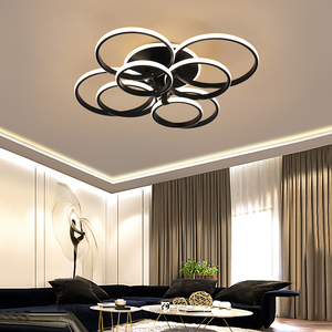 Image 5 - อะคริลิคโคมไฟเพดานแหวนสแควร์สำหรับห้องนอนห้องนั่งเล่นห้องนอนHome AC85 265Vโมเดิร์นLedโคมไฟเพดานโคมไฟLuster Plafonnier