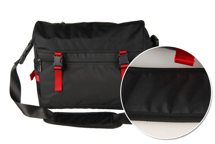 Large Handbag Casual Shoulder Cloth Briefcase Personality Reflective Commuter Bag Design All-match Work Bags Bolso Hombre D948
