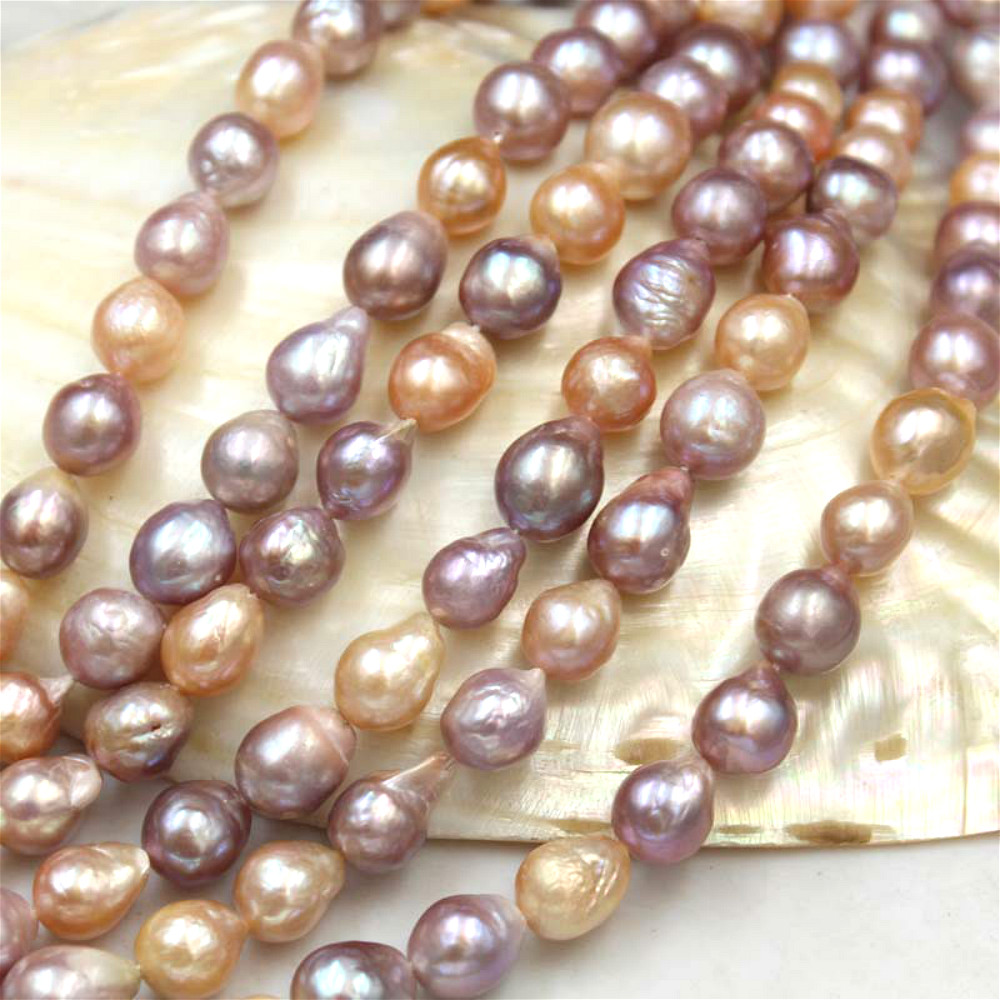 Natural Freshwater Pearl Fashion Baroque Mixed Color Droplet Beads Jewelry DIY Necklace Bracelet Earrings Jewelry Accessories