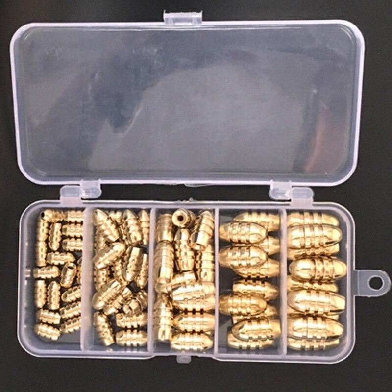 de cobre caixa pesca pingente 05