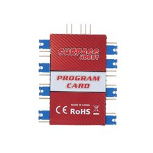 купить Plug-in Programming Card Air ESC Progranmmer Programming Card for FMS RocHobby ESC RC Boat Accessories по цене 352.36 рублей