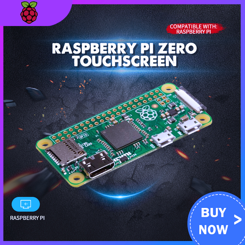 Raspberry Pi  Zero W+ 1.54 Inch Mini Game LCD Touchscreen For Raspberry Pi Zero W/3B/3B+