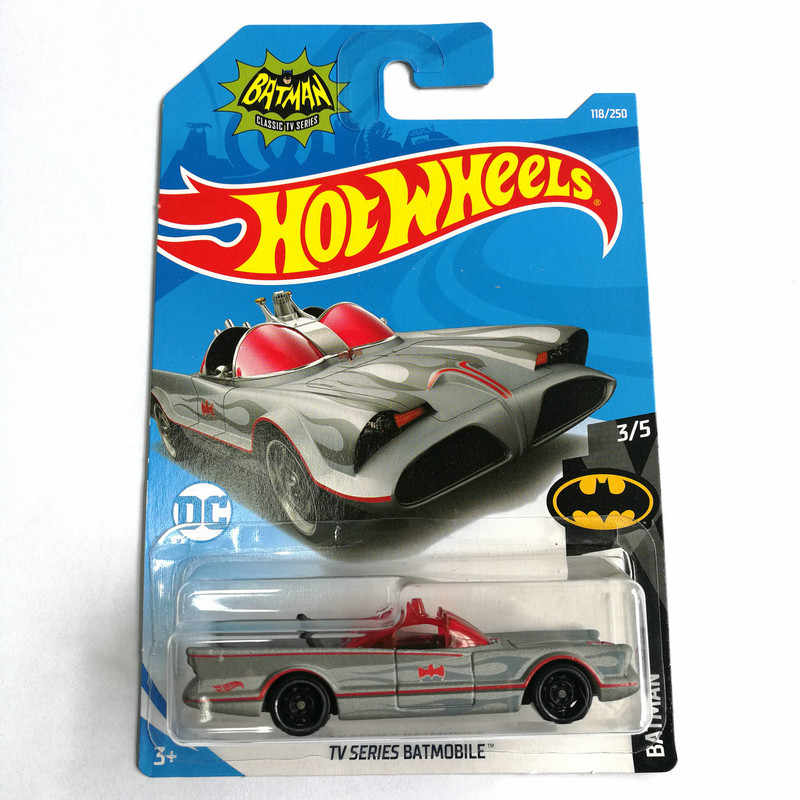 Hot Wheels 1: 64 Auto 2019 NO.84-128 BATMOBILE JEEP FORD CHEVY VOLKSWAGEN Metal Diecast Model Auto Kinderen Speelgoed Gift