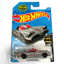 Hot Wheels 1:64 Car 2019 NO.84 128  BATMOBILE JEEPs FORD CHEVY VOLK WAGEN Metal Diecast Model Car Kids Toys Gift