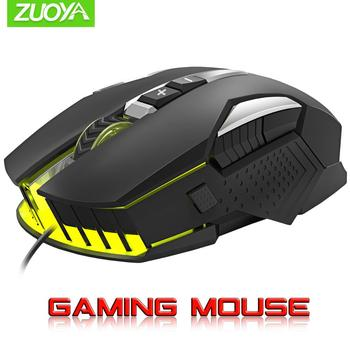Professionale Gaming Mouse DPI Mouse Ottico con cavo Retroilluminazione A LED Computer Mouse Per Il Computer Portatile di Gioco per PC 1