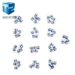 GREATZT10pcs Rm063 Rm-063 100 200 500 1k 2k 5k 10k 20k 50k 100k 200k 500k 1m Ohm Trimpot Trimmer Potentiometer Variable Resistor