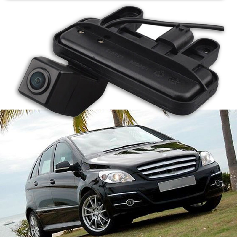 Special Car Rear View Reverse Backup CCD Camera Rearview Parking For Mercedes Benz E Class B180 B200 W246 2010-18