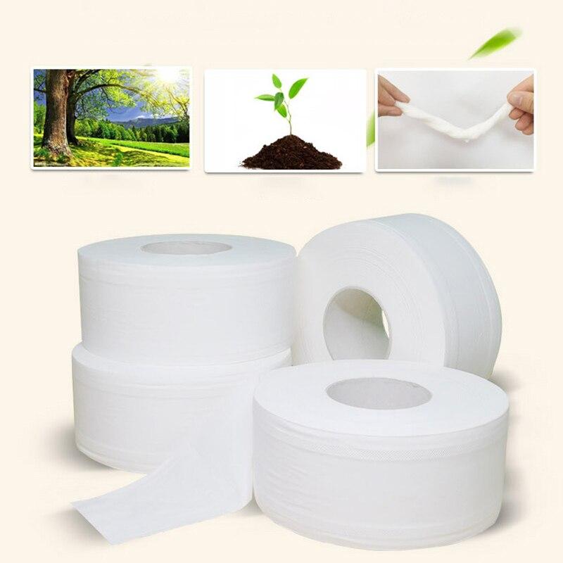 1 Rolls Pack Neutral White Toilet Paper Bathroom Tissue 3 Layers Toilet Paper Tissue Soft Roll Paper Home Hotel Household Tissue