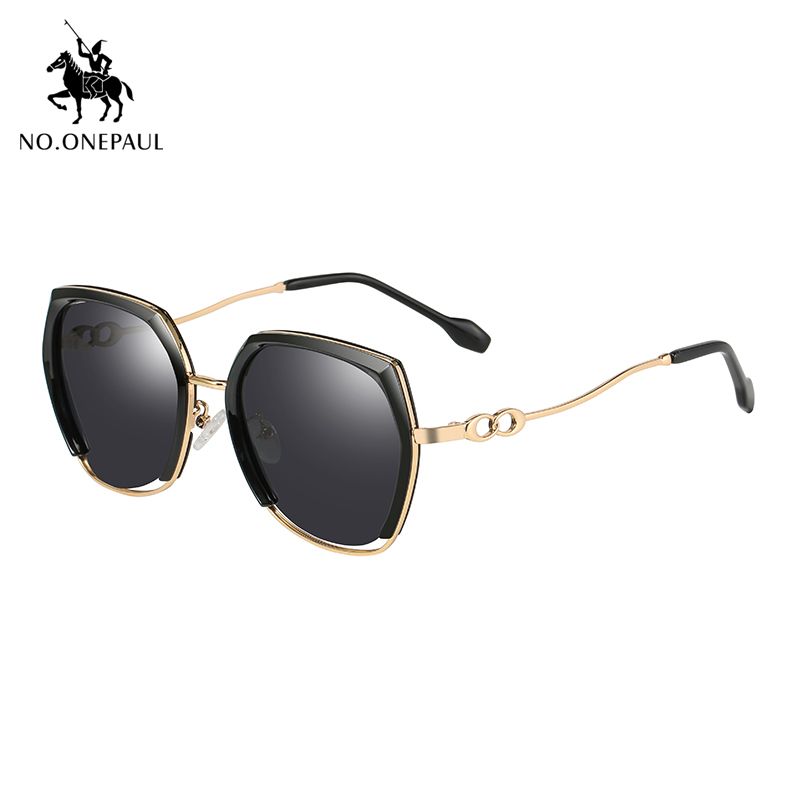 NO.ONEPAUL Polarized Square Metal Frame Male Sun Glasses Sunglasses Fishing NEW Fashion UV400 Driving Sunglasses Brand Men