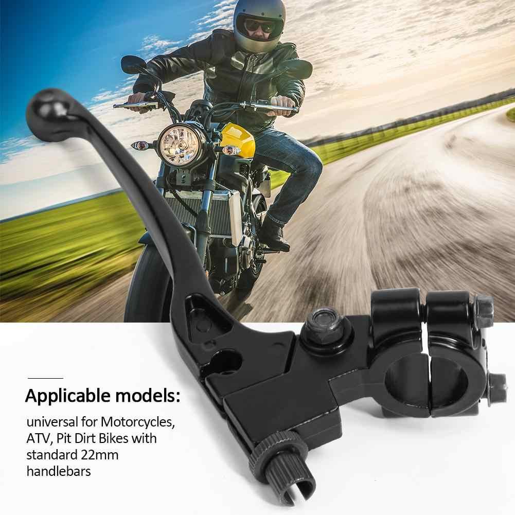 """7 / 8 """"Paduan Aluminium Kiri 22Mm Stang Kopling Tuas untuk Pit Dirt Bike Sepeda Motor ATV Aksesoris Motor"""