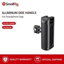 SmallRig Del Telefono Mobile Gabbia Maniglia In Alluminio Maniglia Laterale Con Pattino Freddo per Smartphone Universale Gabbia A Sgancio Rapido Impugnatura 2424