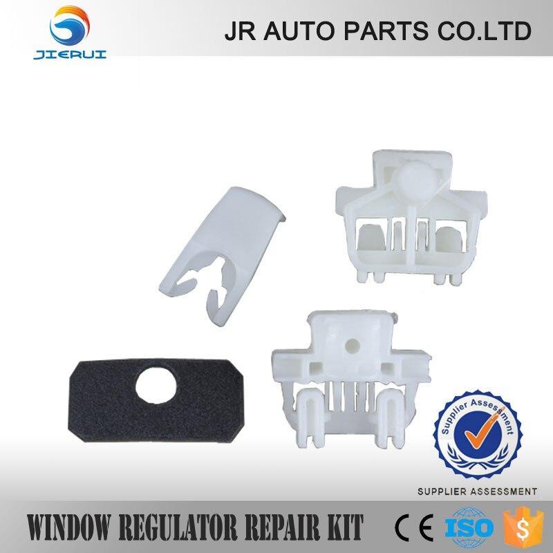 2//3 Door Renault Clio II Regulador Elevalunas Kit Reparación Frontal Izquierdo