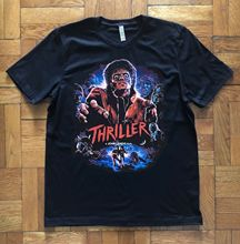 Michael Jackson Thriller T-shirt Men Summer Short Sleeves T Shirt