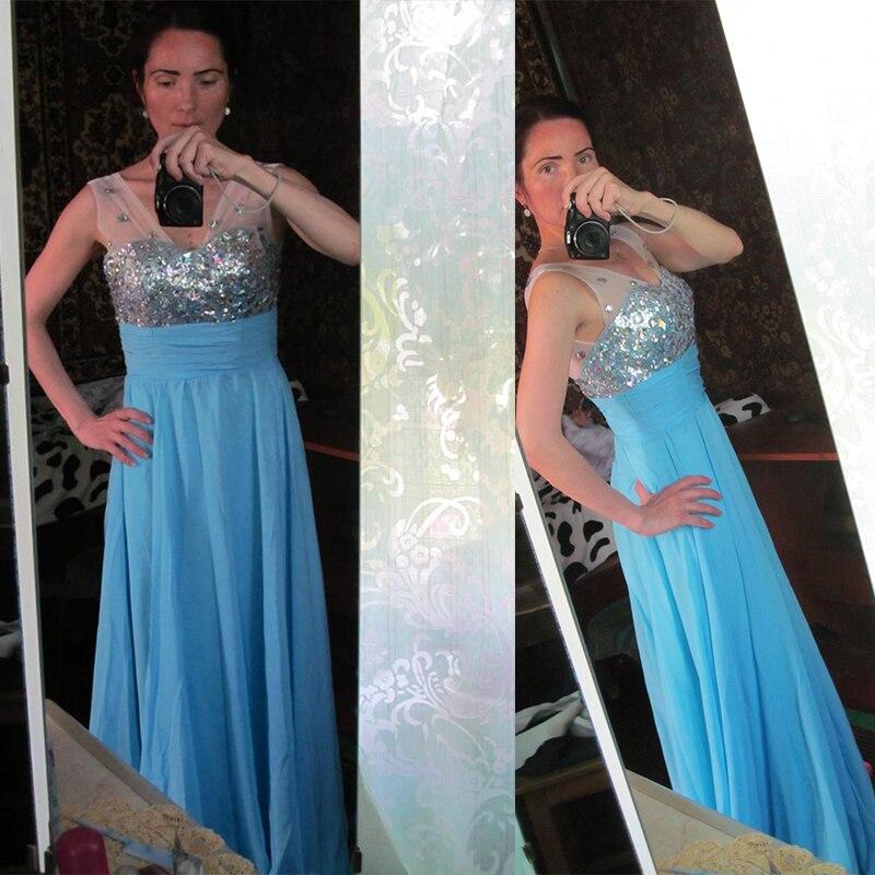 LIVA KıZ En Kaliteli Elmas Uzun Elbise Gelinlik Backless Artı - Bayan Giyimi - Fotoğraf 6