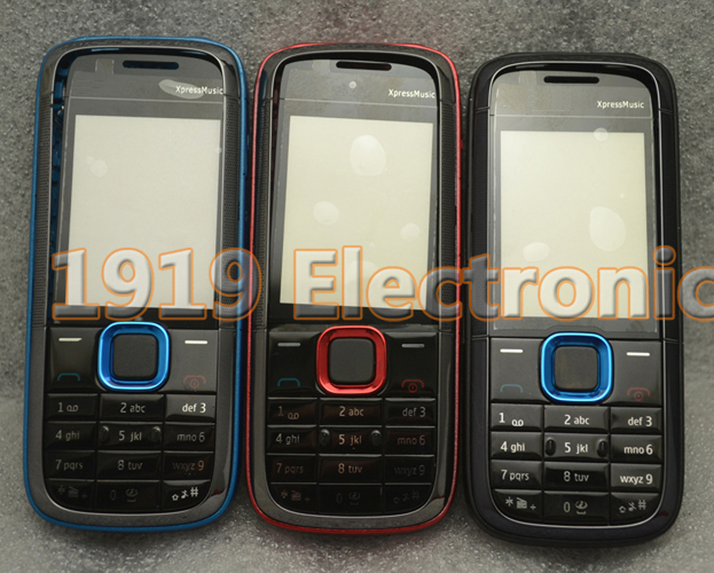 Case Display Housing-Cover Glass English-Keypad Middle-Frame Nokia 5130--Tool Full-Phone