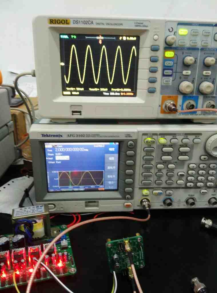 Filtro de paso bajo RC de 4 orden activo de alta frecuencia - 2