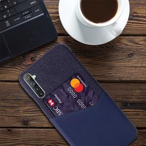 Image 2 - Card Slots Cover For OPPO Realme 6 X7 7 X50 5 Q2 Pro 5i Narzo 20A C17 C12 Business Case For Oppo F17 Reno4 Pro A12e A15 A72 A53
