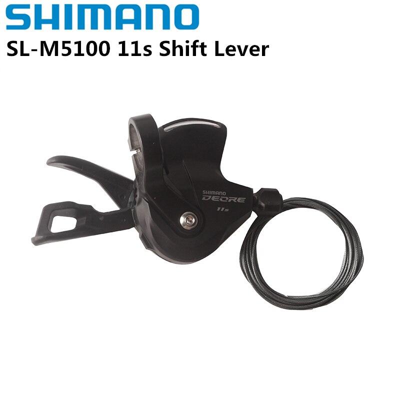 Shimano palanca de cambios Deore SLX SL M7000 para bicicleta de montaña, palanca de cambios izquierda, con Cable interno, Deore M5100, 3x11, 2x11|deore slx|shimano deoreshimano deore slx - AliExpress
