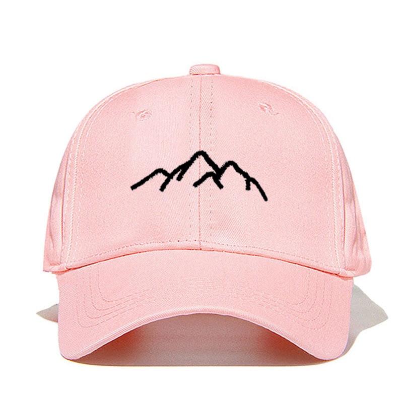 New Mountain Range Embroidery Mens Womens Baseball Caps Adjustable Snapback Caps Fashion dad Hats Bone Garros