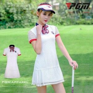 Donne di estate Golf Gonna di Pizzo Traspirante Golf Delle Signore Vestito Corto Maglia A-foderato Sottile Ad Asciugatura rapida Golf Dress abbigliamento sportivo