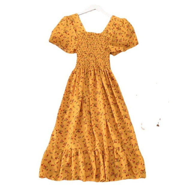 Casual Summer Dress Bohemian Elegnant and Long 6