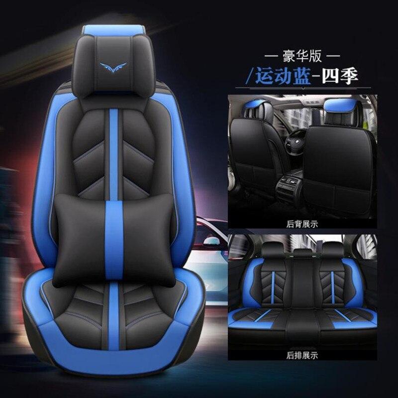 Housse de siège de voiture en cuir spécial de haute qualité pour BMW e30 e34 e36 e39 e46 e60 e90 f10 f30 x3 x5 x6 accessoires de voiture style auto