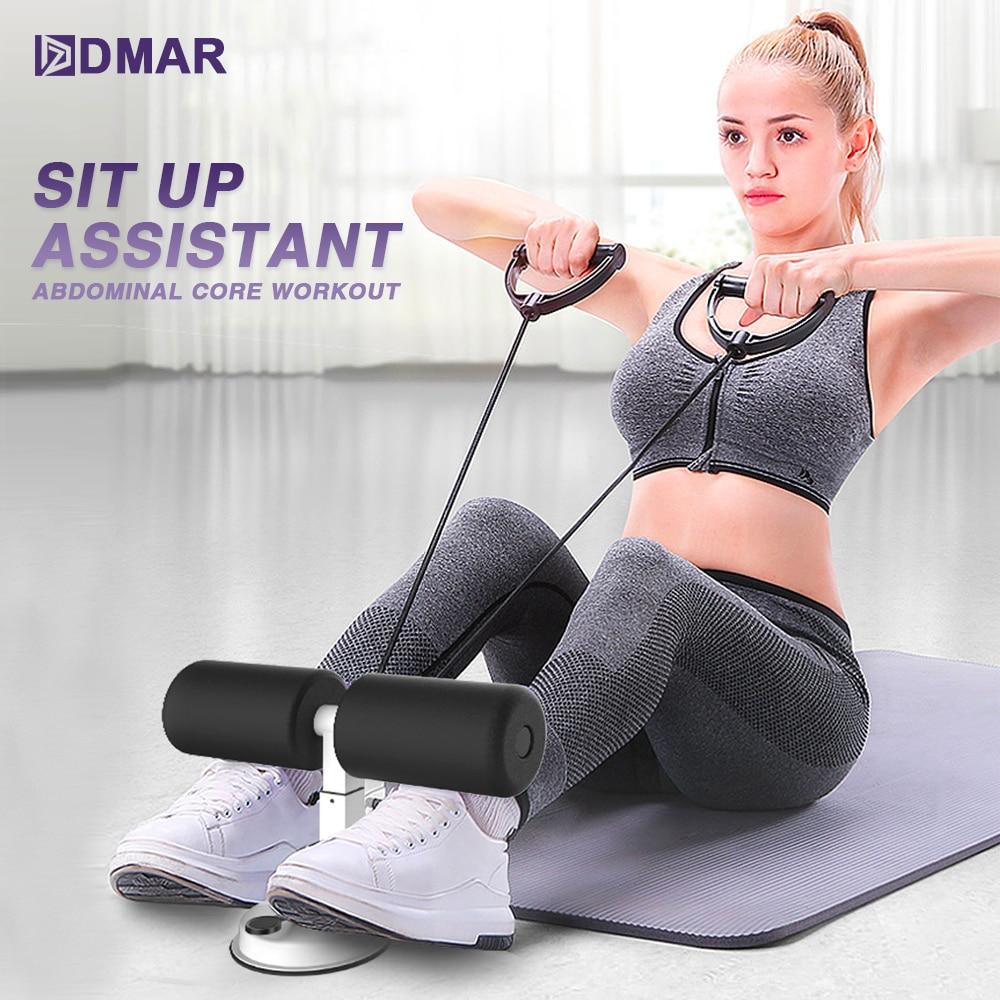 Assis assis Assistant entraînement de base abdominale Fitness réglable assis Ups équipement d'exercice Portable Situp aspiration gymnastique à domicile