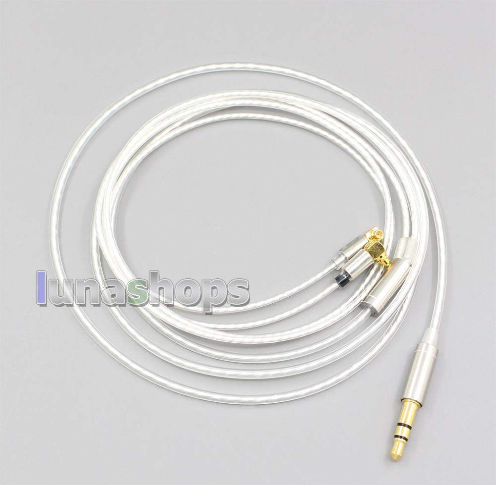 90 Degree L Shape MMCX Earphone Cable For Etymotic ER4 XR SR ER4SR ER4XR F7200 F4100 F3100 LN006521