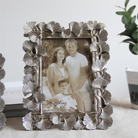 Leaves Side Family Picture Frame Office Table Resin Photo Frame Desktop Decorative Picture Frame For Baby Photo Home Album Art