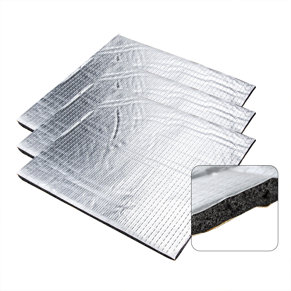 Heat Insulation Cotton 145/200/220/235/300mm Foil Self-adhesive Insulation Cotton 3D Printer Heating Bed Sticker